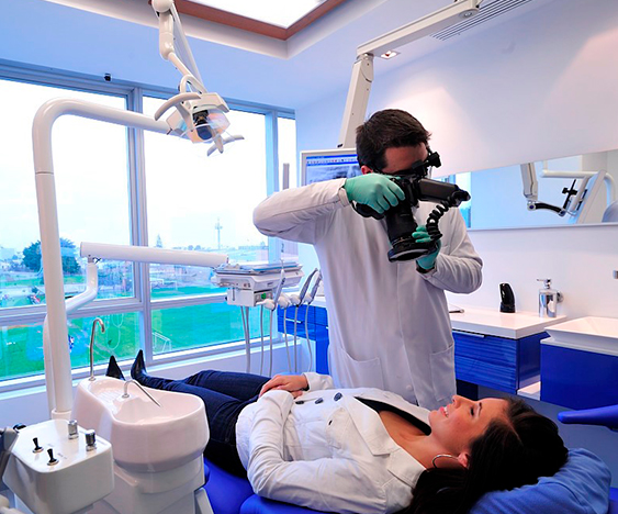 professional photographic images of the teeth
